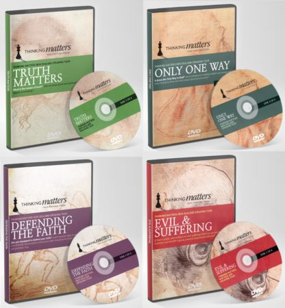 Thinking Matters NZ speaking tour video recordings on 4 DVD's